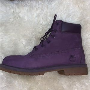 Purple Timberlands